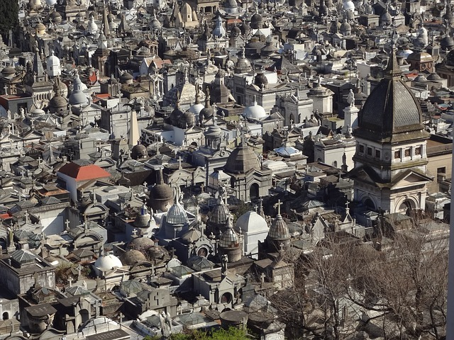 The cemetery and museums of Recoleta